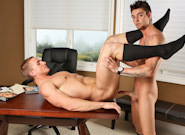 Gay Muscle Men : Strictly Business - Marcus Mojo -amp; Johnny Torque!
