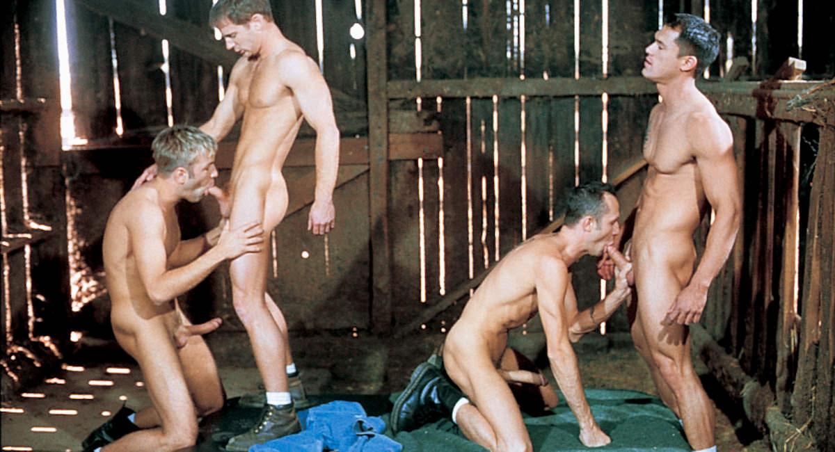 Gay Muscle Men : Brian McClaine, Chad Hunt, Shane Rockford And Daniel Sinclair Fuck - Brian McClaine -amp; Chad Hunt -amp; Shane Rockford -amp; Josh Weston -amp; Daniel Sinclair!