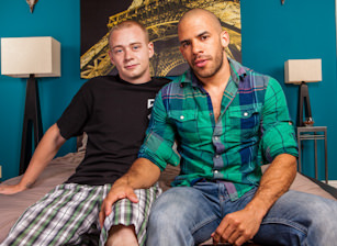 On The Set - Austin Wilde & Joey Devero