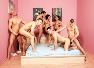 Forbidden Bisexual Orgy, Scene #03