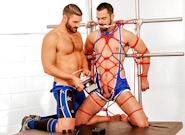Gay Muscle Men : DOLAN WOLF -amp; BOB HAGER - Bob Hager -amp; Dolan Wolf!