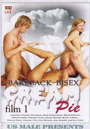 Bareback Bisex Cream Pie film 1 DVD Cover
