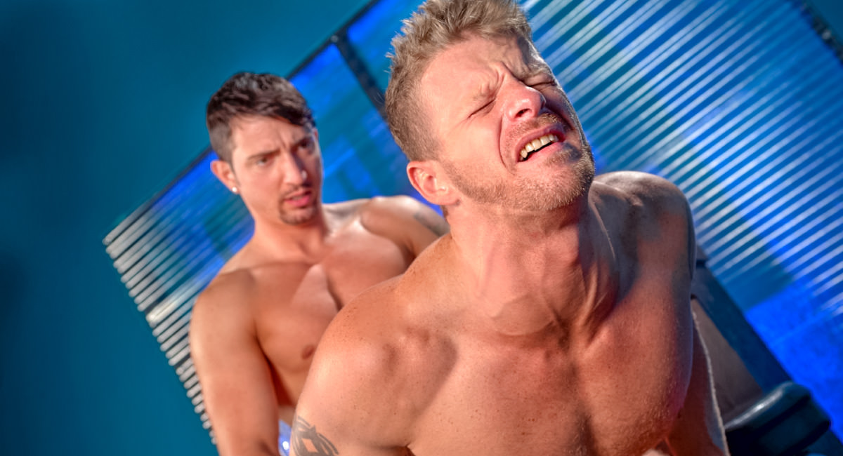 Raging Stallion: Jimmy Durano & Jeremy Stevens - Stripped 2: Hard For The Money