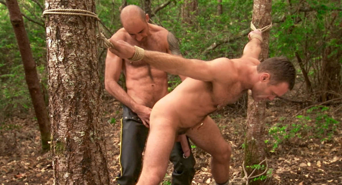Gay Fetish Sex : Bound And Beaten - Billy Duro -amp; Trey Walker!