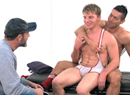 Gay Muscle Men : Post Game Analysis - Alexander Tops Doug - Doug Acre -amp; Alexander Garrett!