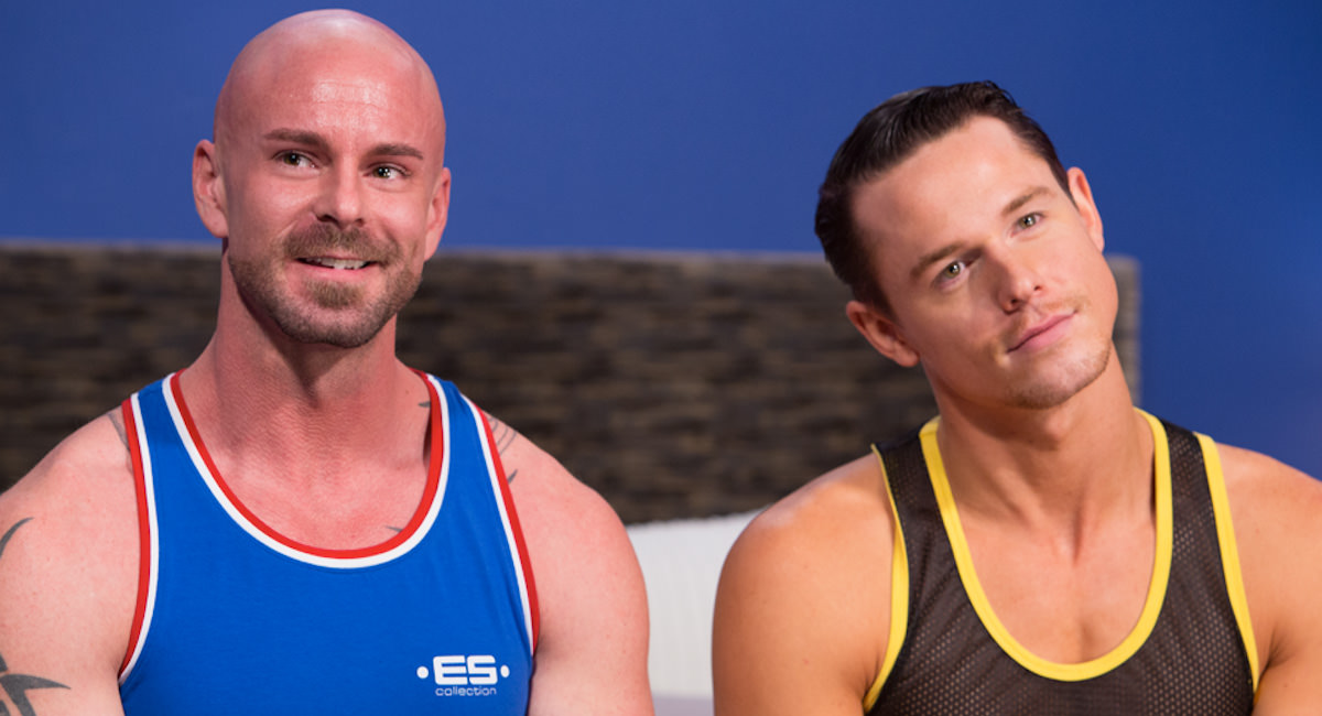 Gay Orgy GroupSex : Jed Athens And Mitch Vaughn - Jed Athens -amp; Mitch Vaughn!