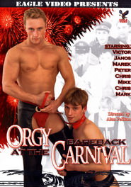 orgy at the bareback carnival DVD Cover