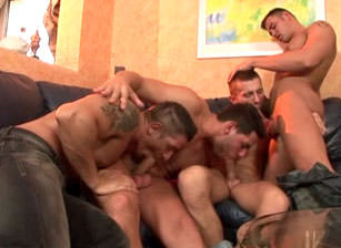 Creampie Orgy, Scene #02