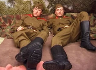 Soldiers From Eastern Europe #03, Scene #01