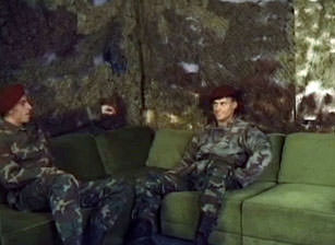 Soldiers From Eastern Europe, Scene #02