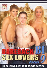 Bareback Bi Sex Lovers #09 Dvd Cover