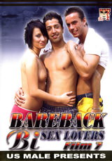 Bareback Bi Sex Lovers #07 Dvd Cover