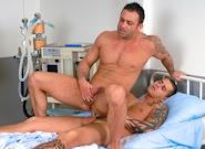 Gay Orgy GroupSex : Doing Hard Time - Renato Bellagio -amp; Mickey A!