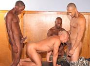 Gay Ebony Studs : Pound -amp; Punish - Race Cooper -amp; Kiern Duecan -amp; Rob Lee -amp; JP Richards!