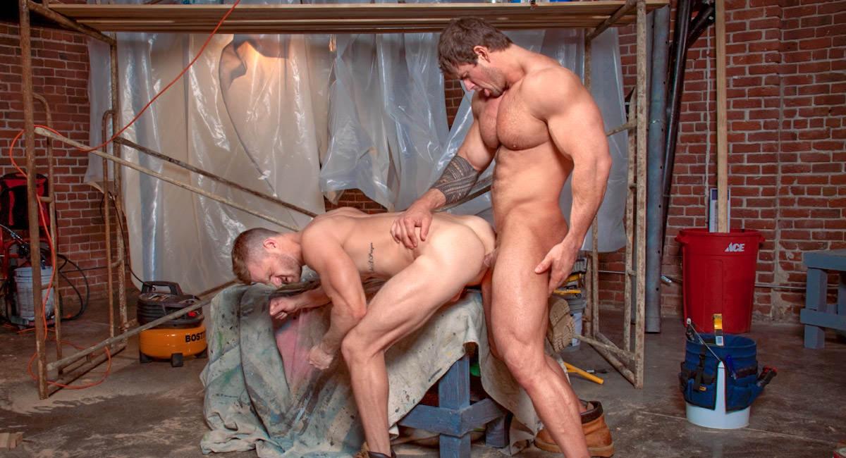 Gay Videos XXX : Built Tough - Zeb Atlas -amp; Landon Conrad!