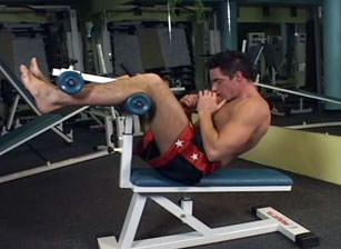 Muscle And Cum #01, Scene #01