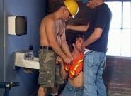 Jason s Crew Hard Hat Daddy Gangbang, Scene #01