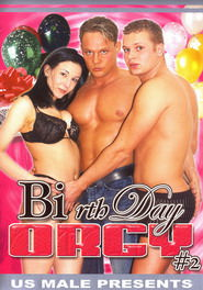 Bi rth Day Orgy #02 DVD Cover