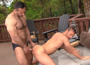 Gay Videos XXX : MUSCLE RIDGE - Adam Champ -amp; JR Bronson!