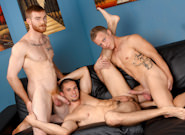 Gay Reality Porn : The Dong Pound - James Jamesson -amp; Anthony Romero -amp; Adam Ridge!