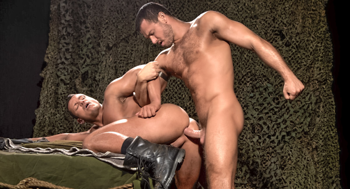 Gay Videos XXX : Militia - Angelo Marconi -amp; Jessy Ares!
