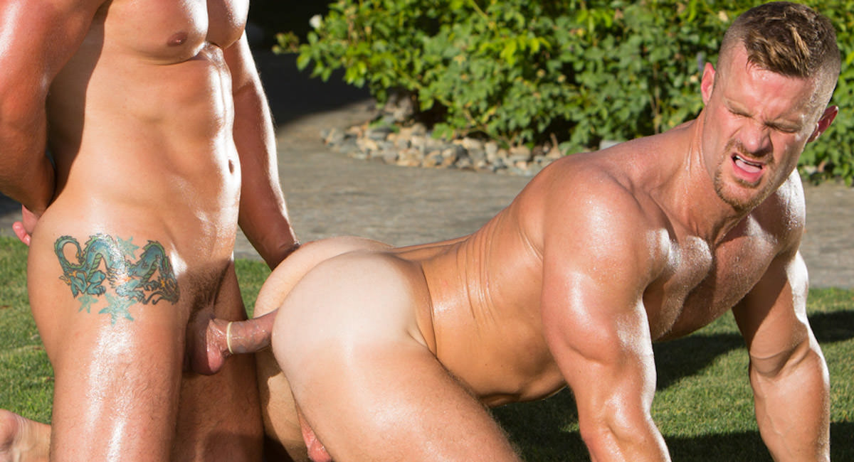 Gay Orgy GroupSex : Heatstroke - Jimmy Durano -amp; Landon Conrad!