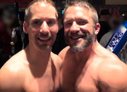 Gay Muscle Men : Post Game Analysis - Jarrod Locke And Dirk Caber - Dirk Caber -amp; Jarrod Locke!