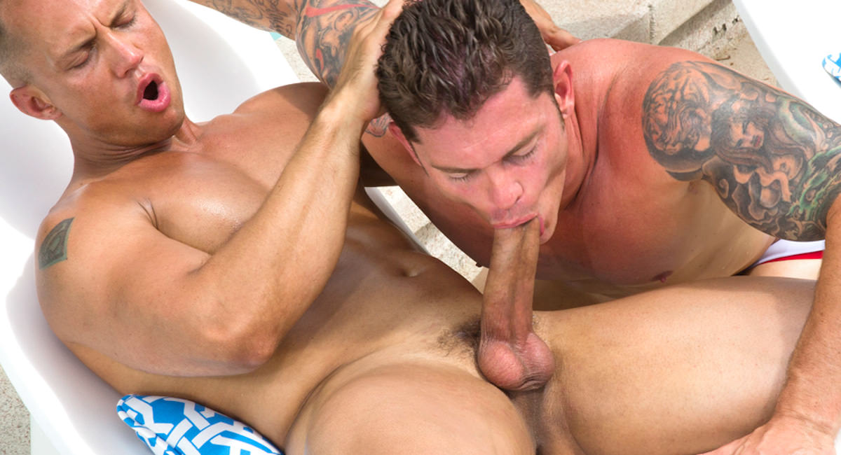 Gay Orgy GroupSex : Easy Summer - John Magnum -amp; Mitchell Rock!