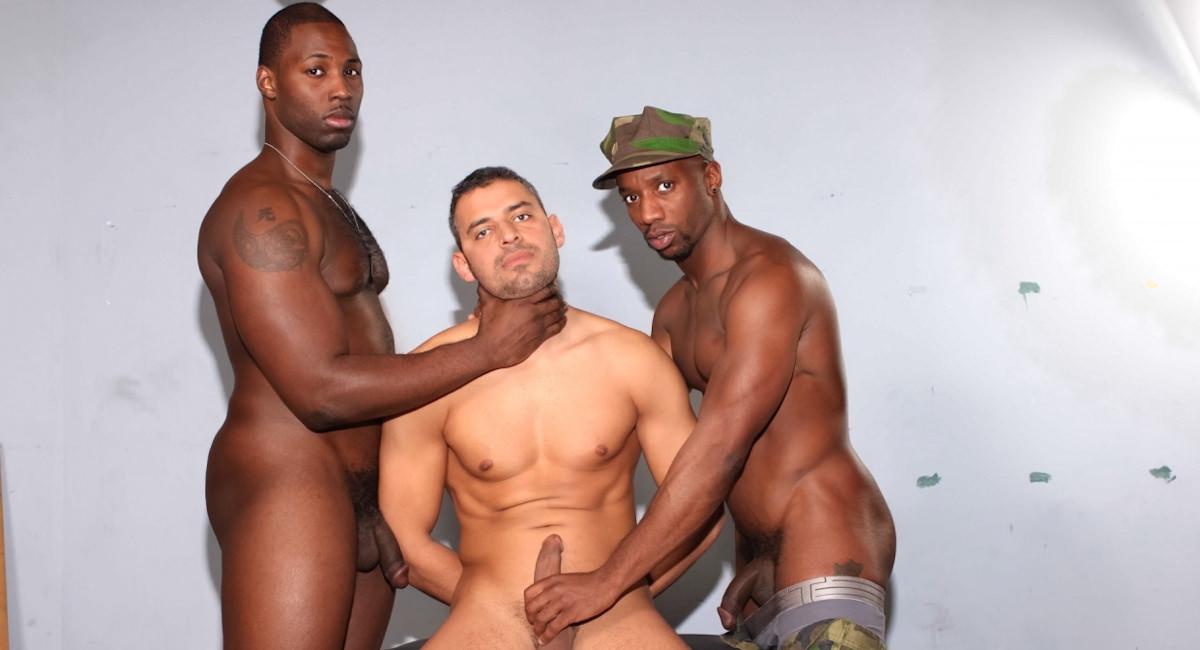 Gay Ebony Studs : Extreme Interrogation - Nubius -amp; Race Cooper -amp; Xaniar!