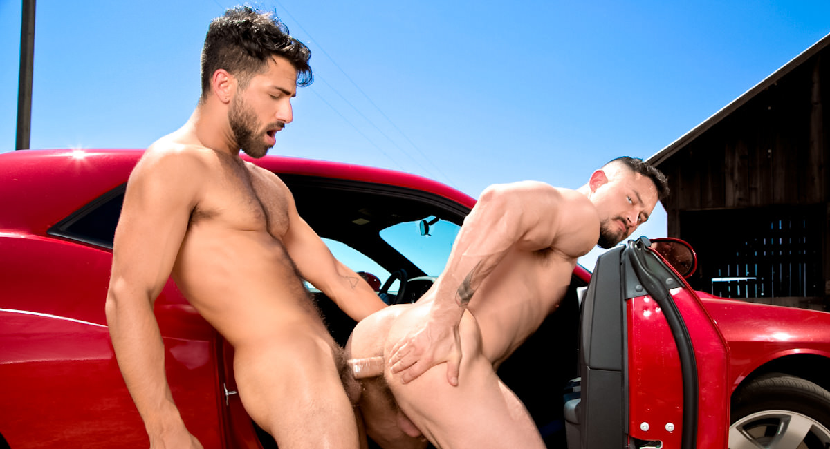 Gay Videos XXX : Open Road - Part 1 - Adam Ramzi -amp; Seven Dixon!
