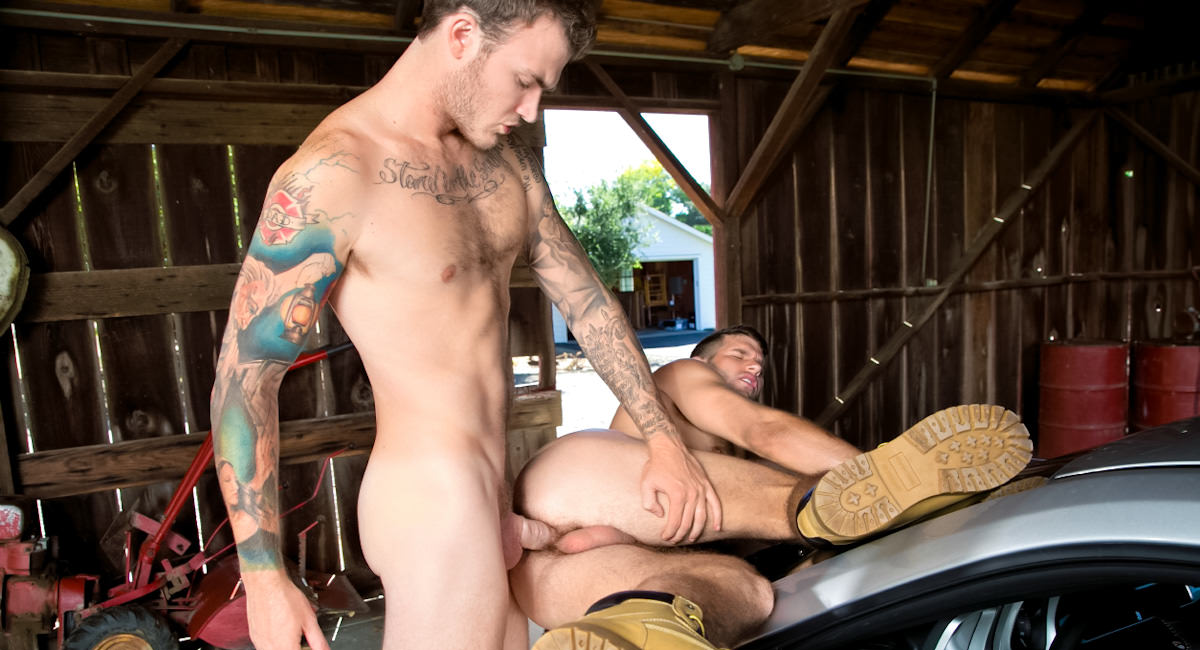 Gay Videos XXX : Open Road - episode 2 - Christian Wilde -amp; Jimmy Fanz!