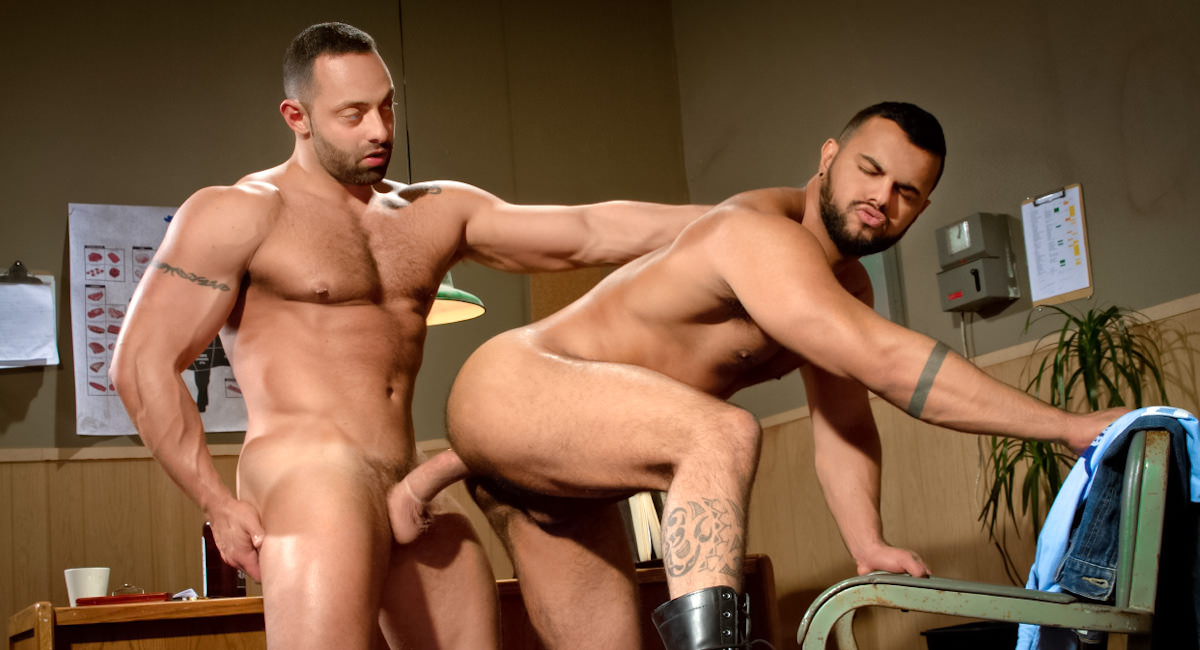 Raging Stallion: Part 1 - Fabio Stallone & Tony Orion - San Francisco Meat Packers