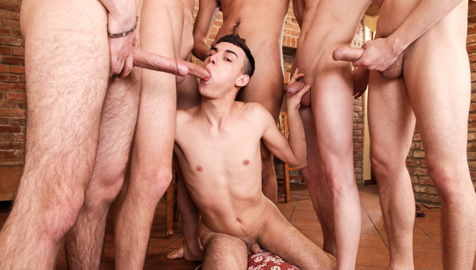 Armando, Greg, Oscar Hart, Tony, Chose & Harry – Glass Always Full