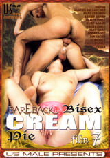Bareback Bisex Cream Pie #07 Dvd Cover