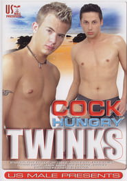 Cock Hungry Twinks DVD Cover