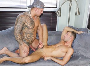 Mam Steel & Brandon Jones: Pounding Brandon's Ass