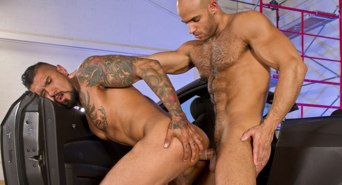 Falcon Studios: Boomer Banks, Sean Zevran - Auto Erotic & Part 2