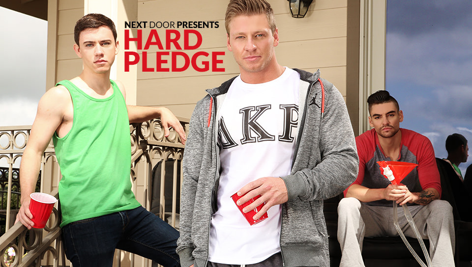 Johnny Torque, Cole Christiansen & Zach Taylor – Pledge Fuck
