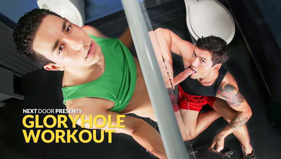 Greg Jameson & Orlando Fox – Gym Gloryhole