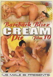 Bareback Bisex Cream Pie #10 DVD Cover