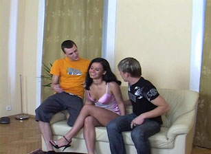 Bareback Bisex Cream Pie #11, Scene #01