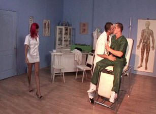 Bi Cream Pie Clinic #01, Scene #03
