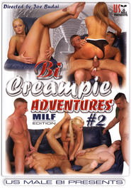 Bi Creampie Adventures #02 Milf Edition DVD Cover