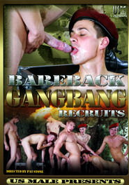 Bareback Gangbang Recruits DVD Cover