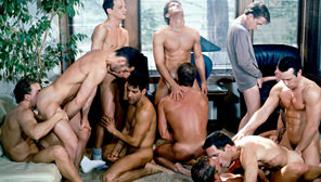 The Other Side Of Aspen IV:  The Rescue : Kevin Dean, Max Grand, Jake Andrews, Tom Steele, Carl Erik, Trent Reed, Jackson Phillips, Daryl Brock, Steve Marks, Ken Ryker