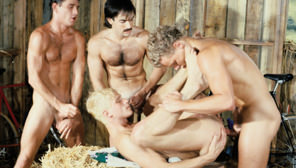 Spokes : Dick Fisk, Rod Phillips, Leo Ford, Lee Ryder, Pete Gable, Mark Hunter