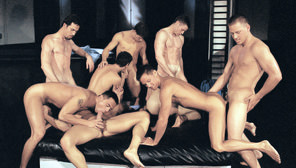 Branded : Robert Balint, Jeremy Penn, Cameron Fox, Justin Dragon, Ivan Andros, Jason Tyler, Josh Weston, Lindon Hawk, Vince Ditonno, Carlos Morales