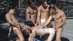 Backwoods : Tom Chase, Nick Mancini, Aaron Wells, Troy Masters, Tony Cameron