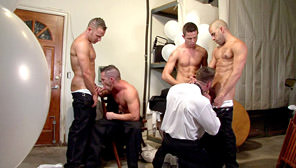 Best Men, Part 2 - The Wedding Party : Erik Rhodes, Aden Jaric, Jordan Jaric, Turk Mason, Austin Wylde