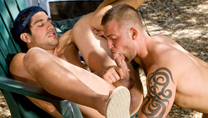 Roughin' It : Tony Capucci, Skyler Caine